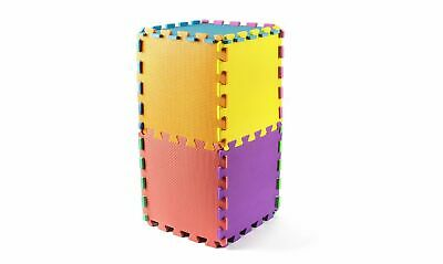 Kids Children PlayMats Soft Foam Interlocking Play Mats Outdoor Activity 9 Pc 7