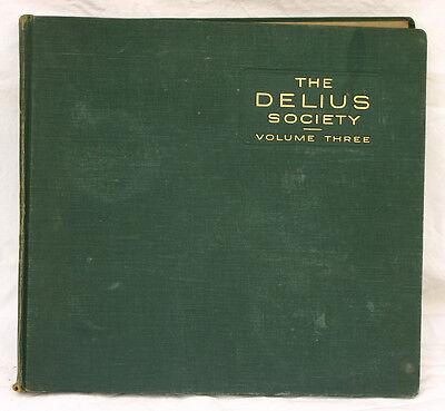 "LONDON PHILH. ORCH. & BEECHAM ""The Delius Society Vol. 3""  Schellackplatte  A314"