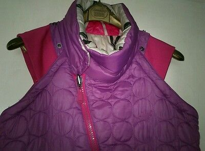 Diesel Coat reversible with removable sleeves Small 7