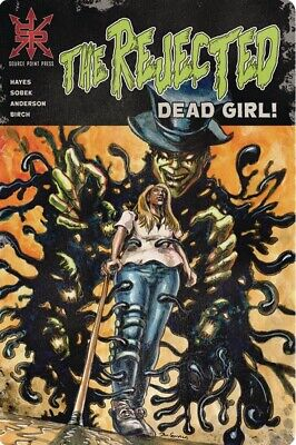 Rejected Dead Girl 1 Virgin Variant Limited To 100 Source Point Press Horror 3