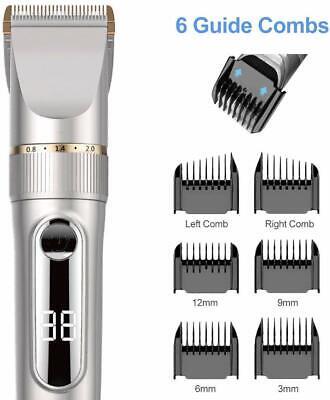 Tagliacapelli elettrico professionale, Lame in ceramica e titanio, Regola barba 8