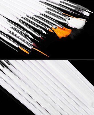15PCS Nail Pens UV Gel Design Painting Art Brush Set for Salon Manicure DIY Tool 2