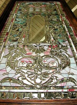 Stained Glass Window, Antique, Unusual Theme #5441 2