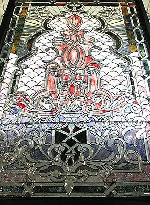 Stained Glass Window, with Beveled Glass #5454 2