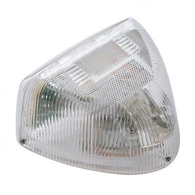 PETERBILT 379 TURN Signal Head Light Marker Light - 31 Amber LED/Clear Lens