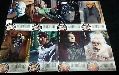 Dave and Buster's Aliens Star Trek Limited Foil Arcade Card Set Lot - Mugato 2