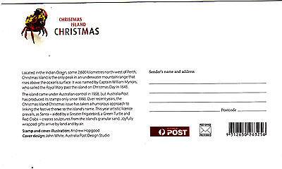 2012 Christmas Island Christmas (Gummed Stamps) FDC - Christmas Island PMK