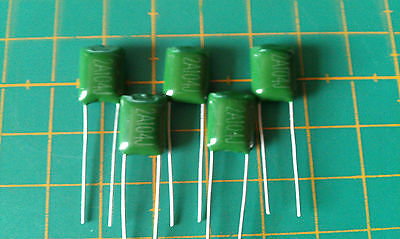 Polyester Film Capacitors - 5 Pack - 60 Values Available - 100-1000V - Free P&P