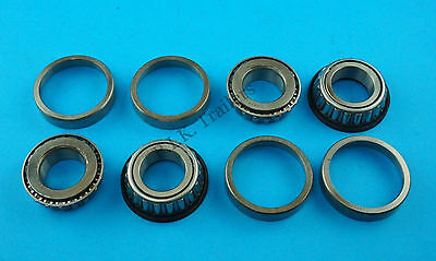 """2 x Wheel Bearing L44643 44610 to fit 1"""" Axle for 4"""" PCD Trailer Hubs  #KIT100 2"""
