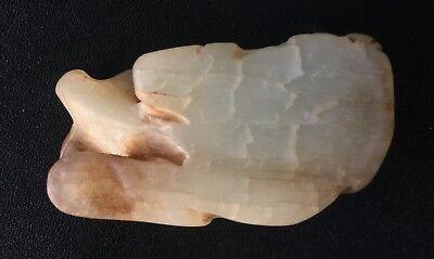 Chinese Carved Jade - Sitting Buffalo 5