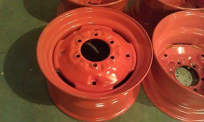 4 NEW RIMS for Bobcat M600-16 5X8 25X6 fit 10X16 5 tires Replace  7 00X15-7 00-15