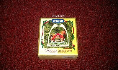 Breyer 2000 Christmas Stirrup Ornament With Box - 2Nd In Series 2