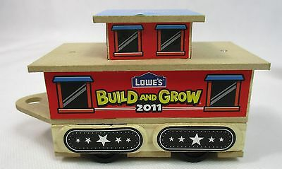 Lowe/'s Build and Grow Train Caboose Wooden Build Kit NEW