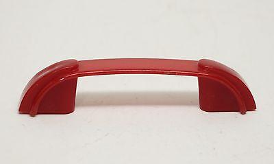 Uniquely Designed Red Vintage Plastic Bridge Pull 3