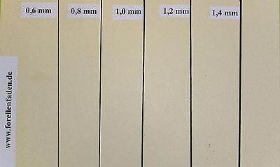 Stockmar 63000 Wachsfolien 20x4 cm 12 Farben Karton zum Verzieren und Basteln