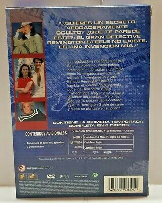 Pelicula Dvd Serie Tv Remington Steele Temporada 1 3