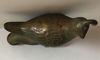 Antique Bronze Faucet Bird Handle Vintage Rare 6