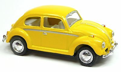VW Käfer 1967 Modellauto Metall Spritzguss pastellgrün weiß 12,5cm KINSMART