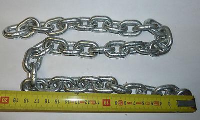Eisenkette Kette Eisen Stahlkettefür Bastler- kurzes Ende 4