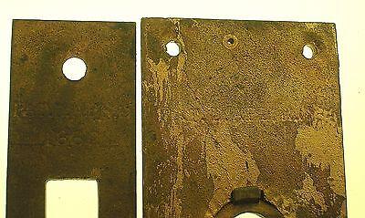 C.1883 Mansion Gilded Bronze Door Lock Set - Rare - Fantastic Quality - B. Offer 9