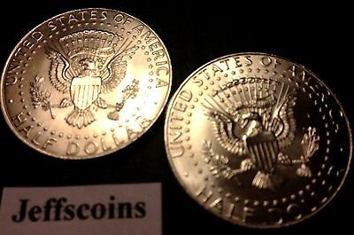 2016 P&D Kennedy Half Dollars Kenedy PD MINT ROLL Clad 50¢ 2 Uncirculated Coins 2