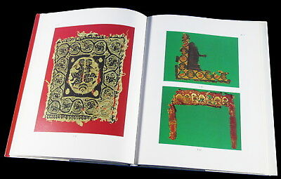 BOOK Coptic Textiles ancient art tunic fragment embroidery Hungary Museum Egypt