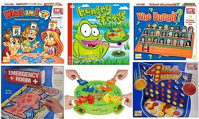 Traditional Classic Board Games Modern Full Size Fun Family Kids Children Gift 4