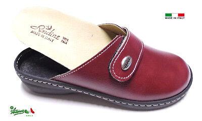 Pantofole ciabatte donna chiuse MADEinITALY PLANTARE ESTRAIBILE 310 italiane 6