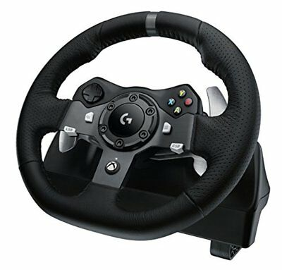 Logitech G920 Racing Wheel for Xbox One / PC + Driving Force Shifter NEW 5