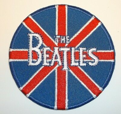 The BEATLES Embroidered Patch Patches~Many Versions~Quality~Iron on Sew~Collect 2