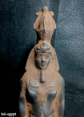 Rare EGYPTIAN ANTIQUE ANTIQUITIES King Rameses II Statue Figure 1549-1113 BC 2
