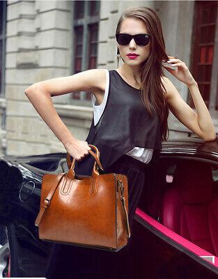 Ladies Women Fashion Large Leather Tote Hobo Shopper Shoulder Bag Handbag 9