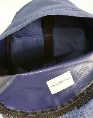 Calvin Klein Jeans Zainetto Unisex Lavabile Tasche Esterna e  Interna Stell Blue 3
