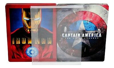 SC2 Blu-ray Steelbook Protective Slipcovers / Sleeves / Protectors (Pack of 10) 2