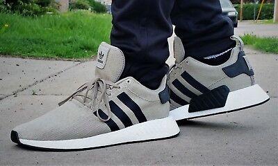 1b7df8361 ... NEW adidas Originals NMD R2 Men s Shoes Beige White B22694 Boost  Cushioning 6