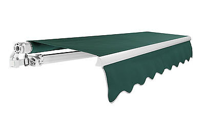 Primrose Patio Awning Manual Garden Canopy Sun Shade Retractable Shelter Outdoor 3