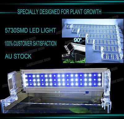 30-180cm FULL Spectrum Aquarium Fish Tank LED Light Fresh Marine Plant Lights 11