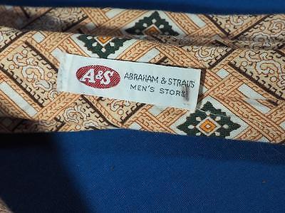 26e29863c306 ... Vintage Polyester Tie Necktie Pedigree by Michel Abraham & Straus Mens  Store 4