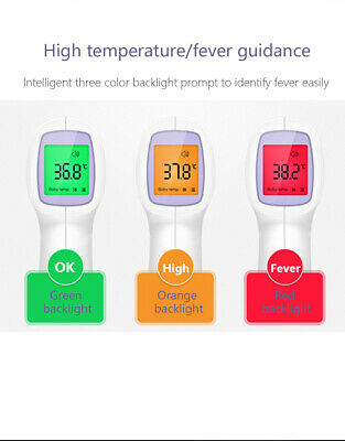 Infrared Non Contact Thermometer | FDA and CE approved | Medical Grade Quality 3