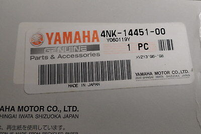 New Genuine Yamaha Motorcycle Element Air Cleaner 4Nk-14451-00-00