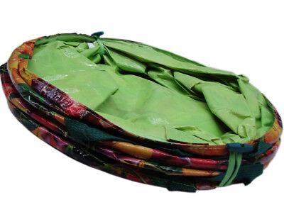 Garten Abfallsack Popup Laubsack faltbar 100L Rasensack 80kg Gartenabfallsack