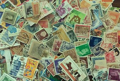 [Lot A] 100 Different Worldwide Stamp Collection - At least 50% Commemoratives! 3