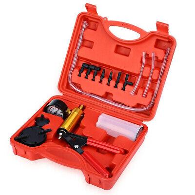 2 In 1 Brake Bleeder & Vacuum Pump Gauge Test Tuner Kit Tools DIY Hand Tools US 2