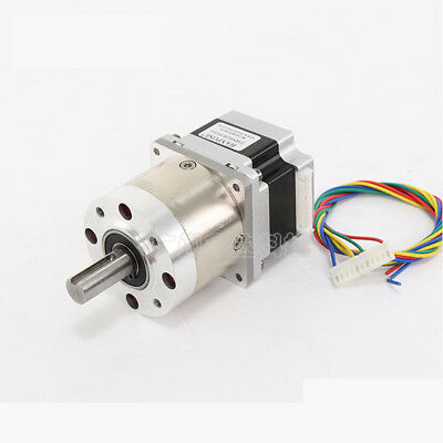 Nema 23 Stepper Motor 57mm Planetary Gear Motor 12mm Shaft 1:3.6 - 1:807 Ratio 7