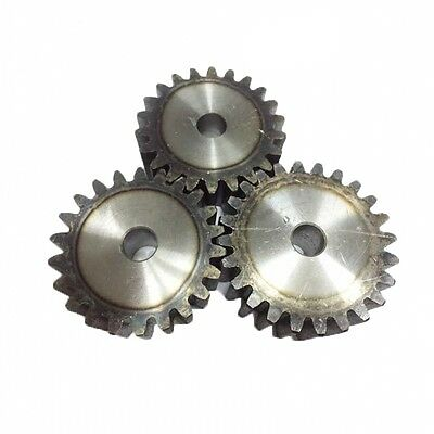 2.5MOD 22T Spur Gears 45 Steel Motor Gears  Tooth Diameter 60MM Thickness 25MM
