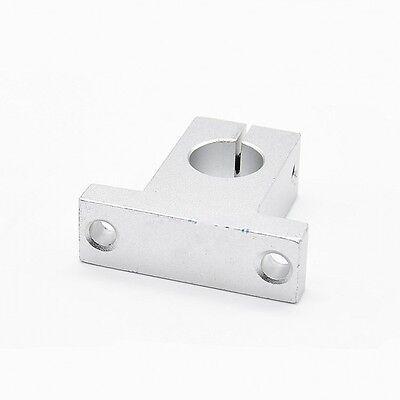 2Pcs SK12 12mm Bearing CNC Aluminum Linear Rail Shaft Guide Support EconomicV!
