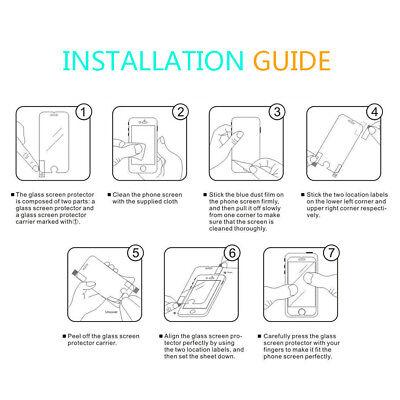 Displayschutz 9H Echtglas Folie Schutzfolie für alle iPhone Modelle