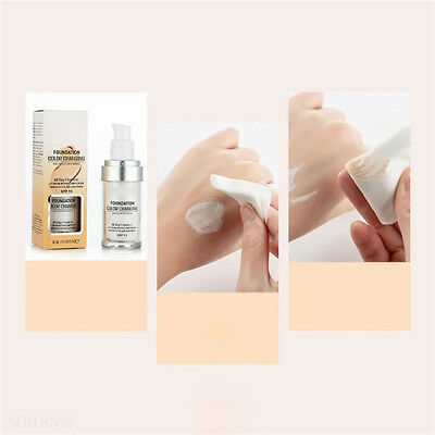 Magic Flawless Color Changing Foundation TLM Makeup Change To Your Skin Tone  E1 8
