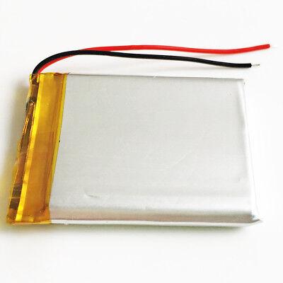 10 pcs 800mAh Lipo Polymer Rechargeable Battery 3.7V For Mp3 GPS Camera 503443 6