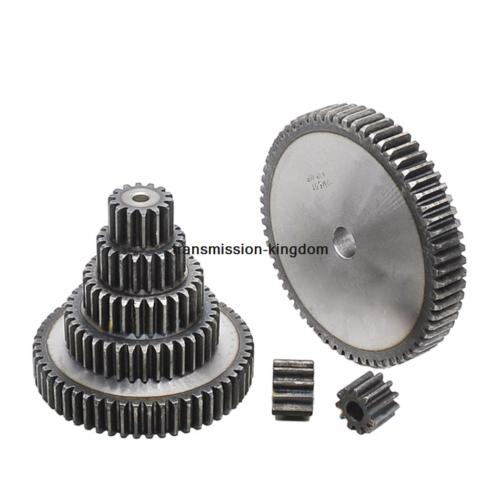 2.5M10T-30T 45# Steel Spur Gear Metal Module 2.5 Moter Gear Wheel 10-30 Tooth 2